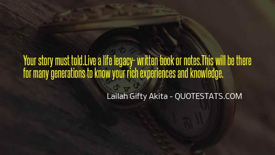A Rich Life Quotes #236710