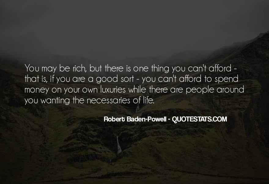 A Rich Life Quotes #340983