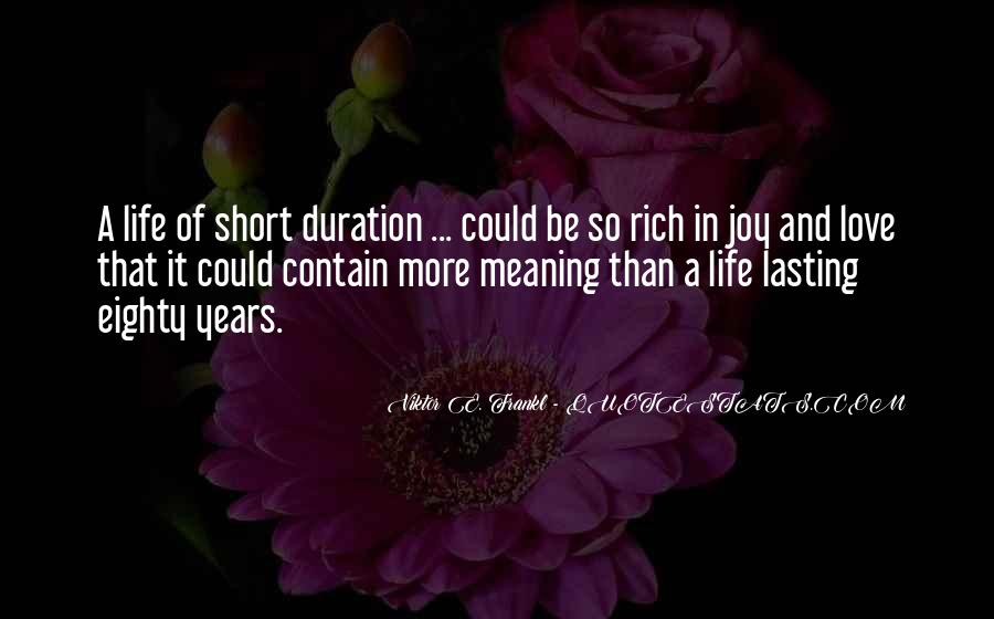 A Rich Life Quotes #435941