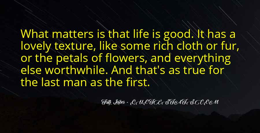 A Rich Life Quotes #443756
