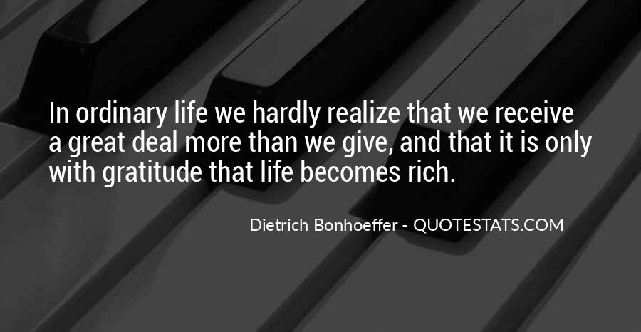 A Rich Life Quotes #463515
