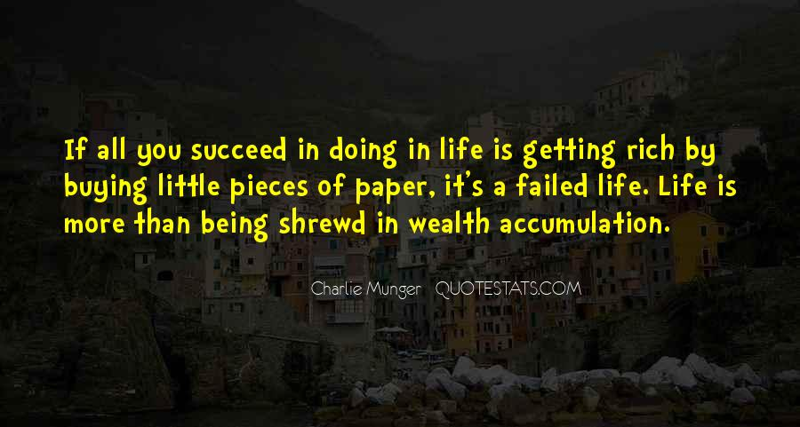 A Rich Life Quotes #88926