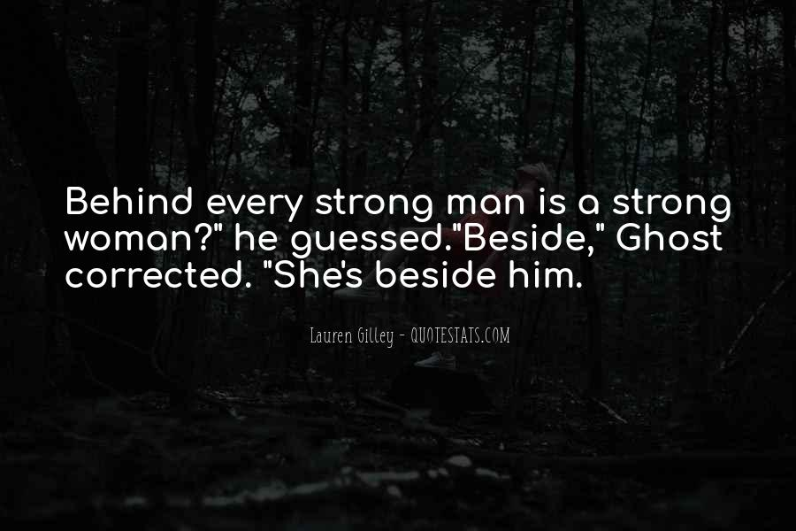 A Strong Man Is Quotes #161200