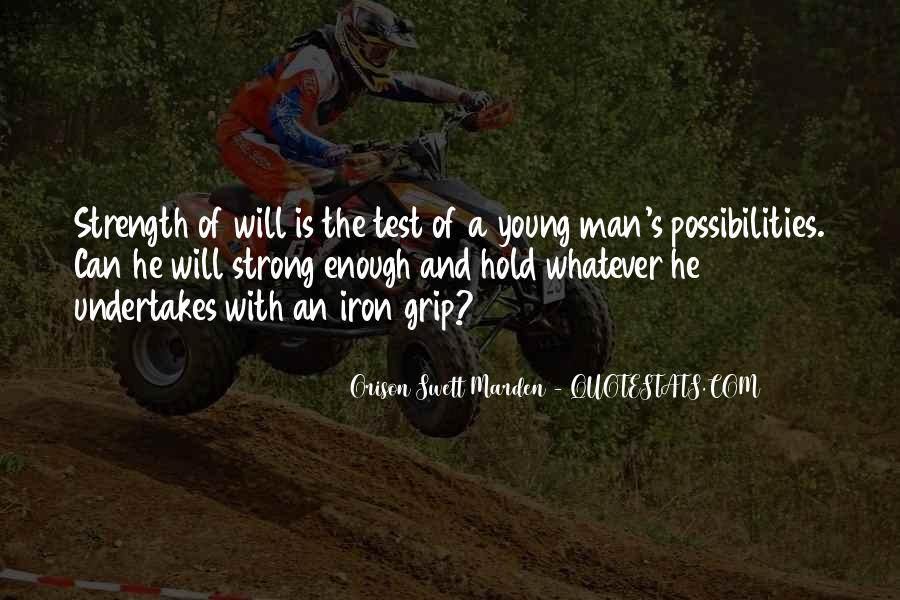 A Strong Man Is Quotes #249292