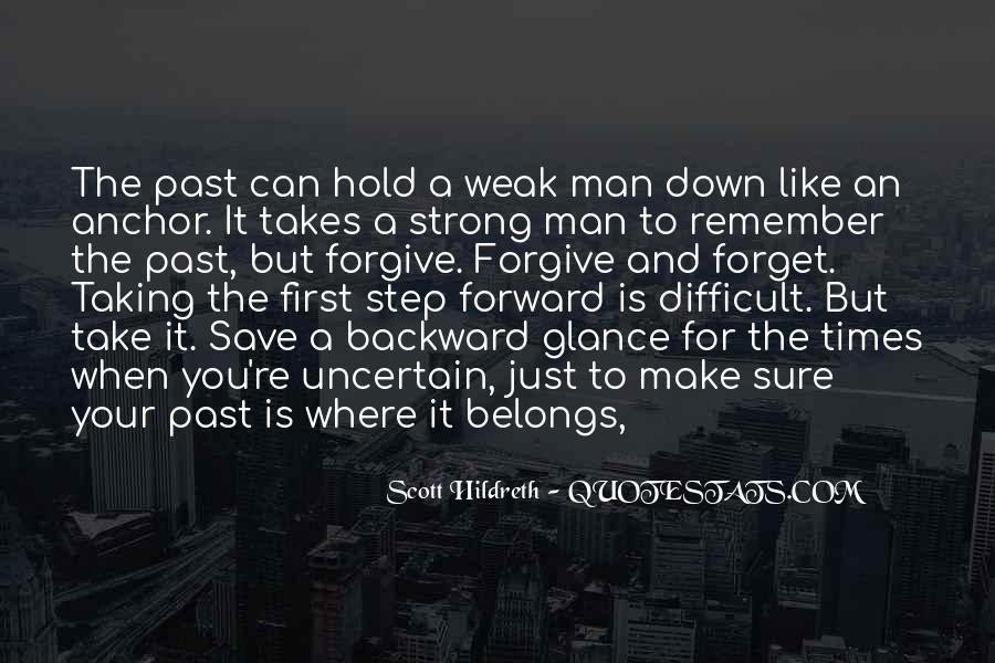 A Strong Man Is Quotes #445668