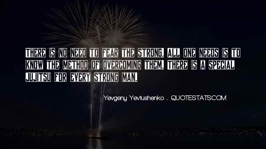 A Strong Man Is Quotes #565360