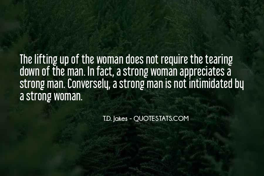 A Strong Man Is Quotes #694620