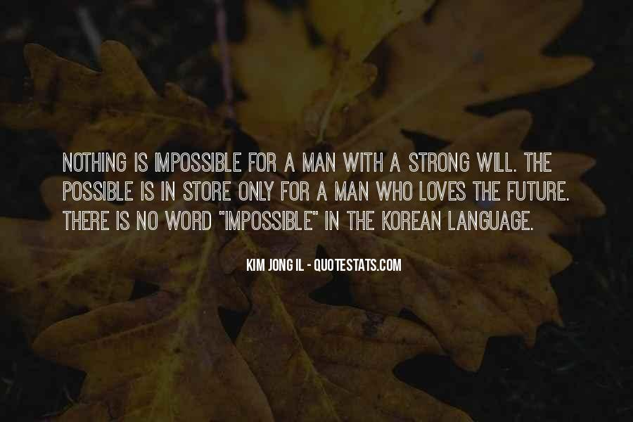 A Strong Man Is Quotes #809288