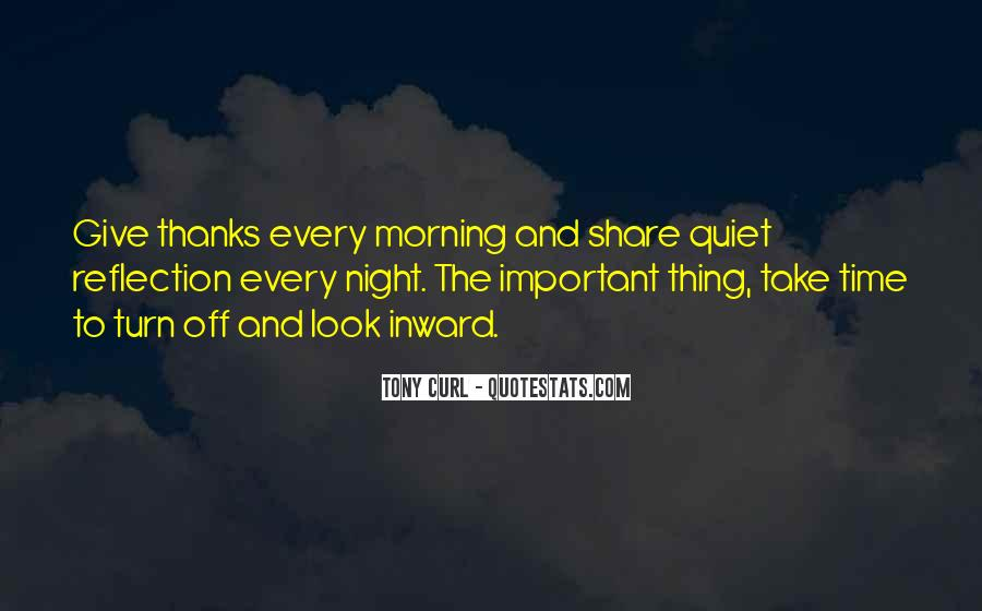 A Time To Give Thanks Quotes #93742