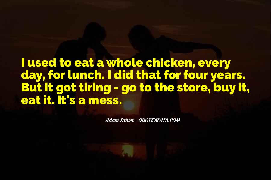 A Tiring Day Quotes #968354