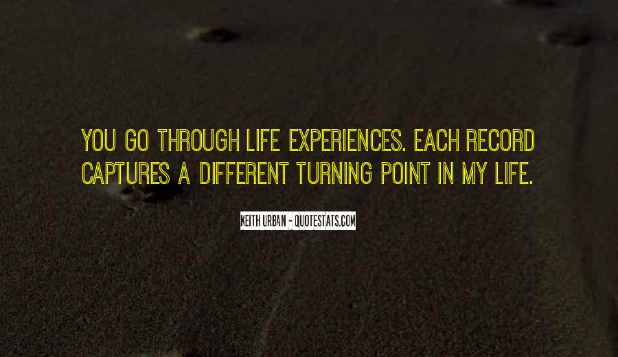 A Turning Point In Life Quotes #1252708