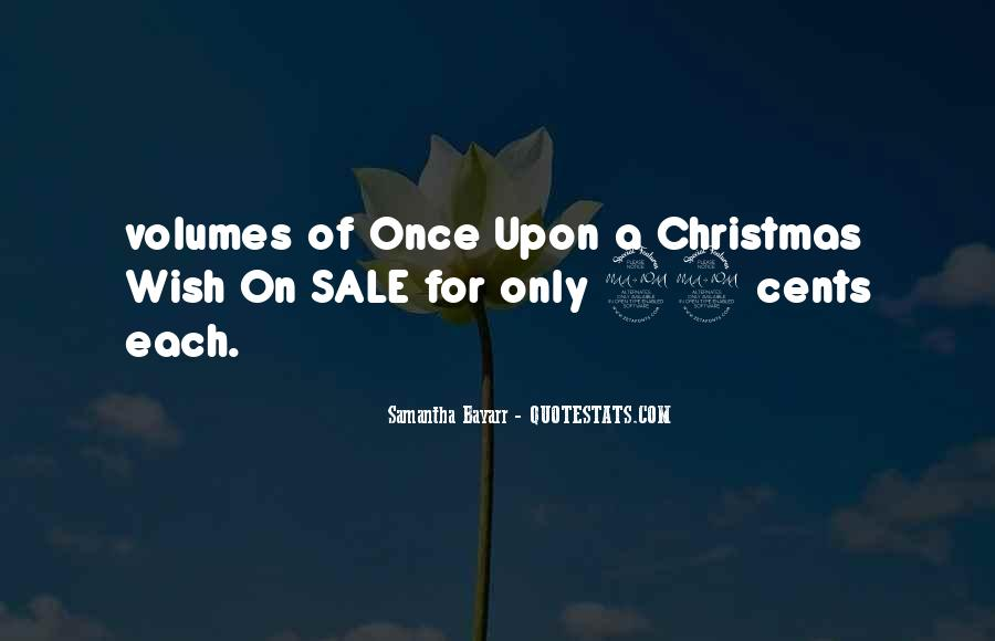 A Wish For Christmas Quotes #560563