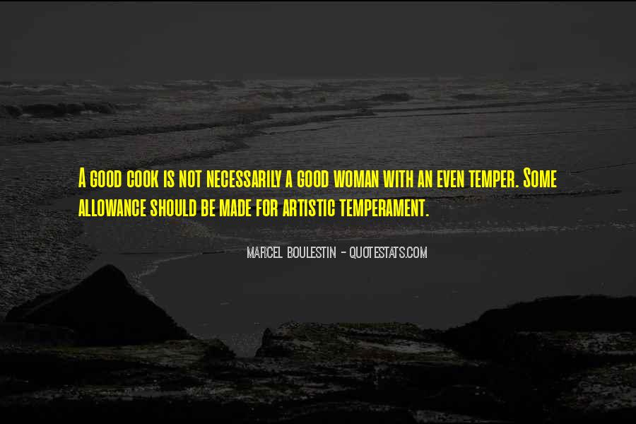 A Woman Who Can't Cook Quotes #183443