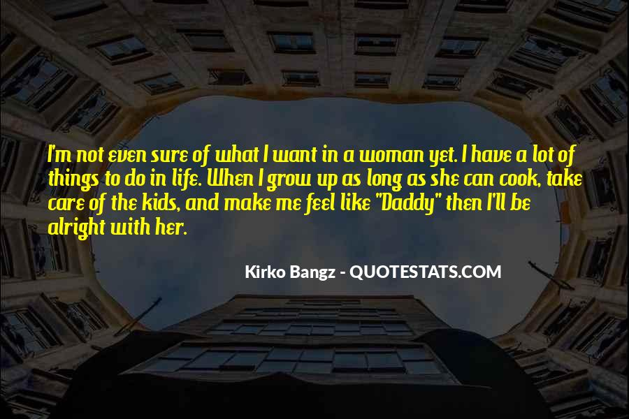 A Woman Who Can't Cook Quotes #288241