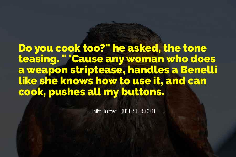 A Woman Who Can't Cook Quotes #337095