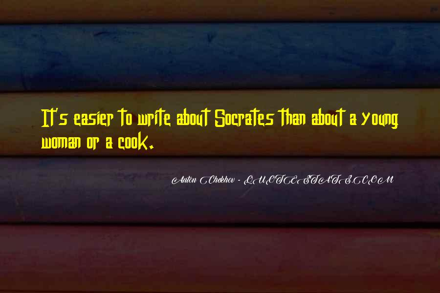 A Woman Who Can't Cook Quotes #973685