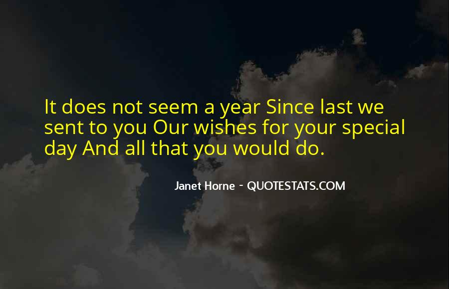 A Year Birthday Quotes #1217899