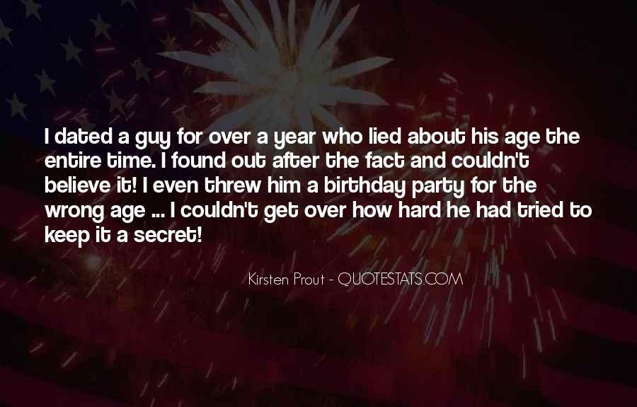 A Year Birthday Quotes #1455894