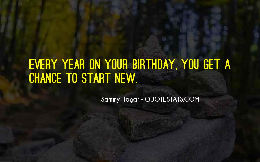 A Year Birthday Quotes #1500449