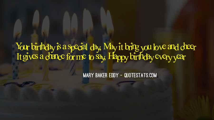 A Year Birthday Quotes #1599545
