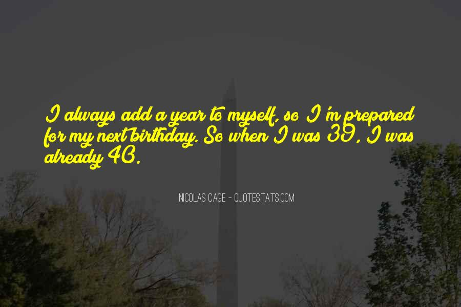 A Year Birthday Quotes #1803449