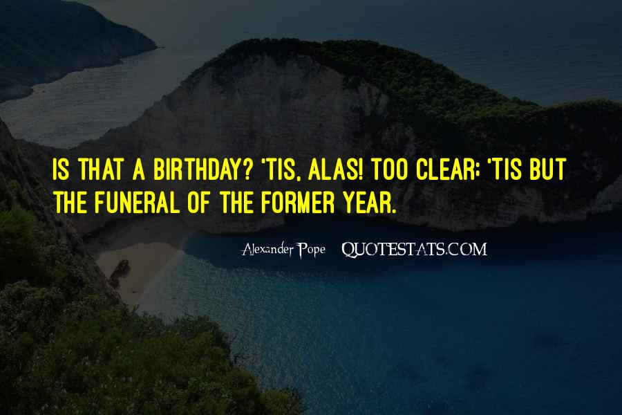 A Year Birthday Quotes #500455