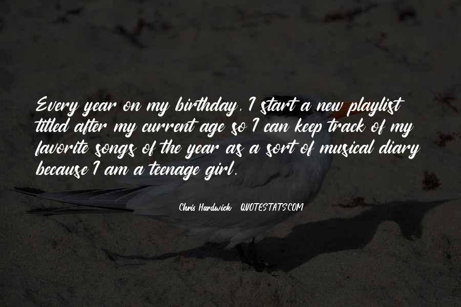 A Year Birthday Quotes #622894
