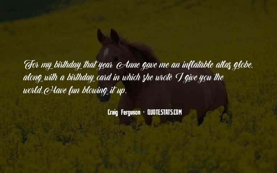 A Year Birthday Quotes #652872