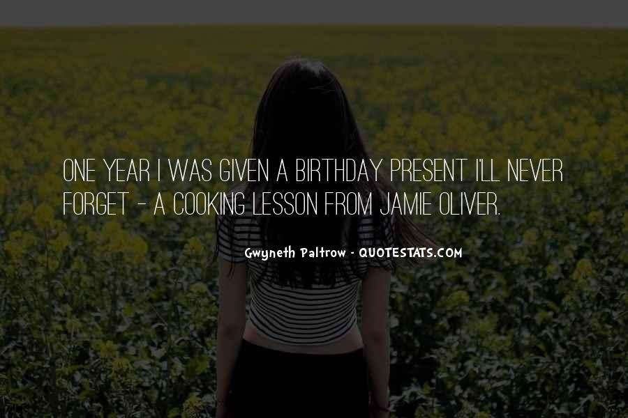 A Year Birthday Quotes #82022