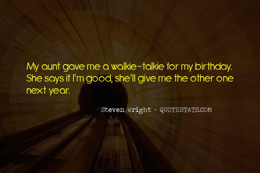 A Year Birthday Quotes #982473