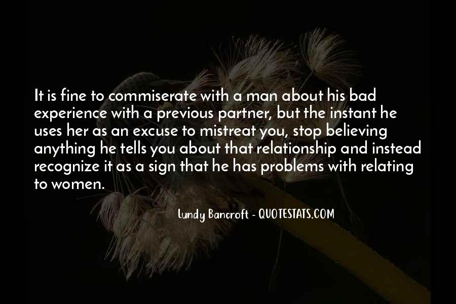 About Bad Relationship Quotes #244445