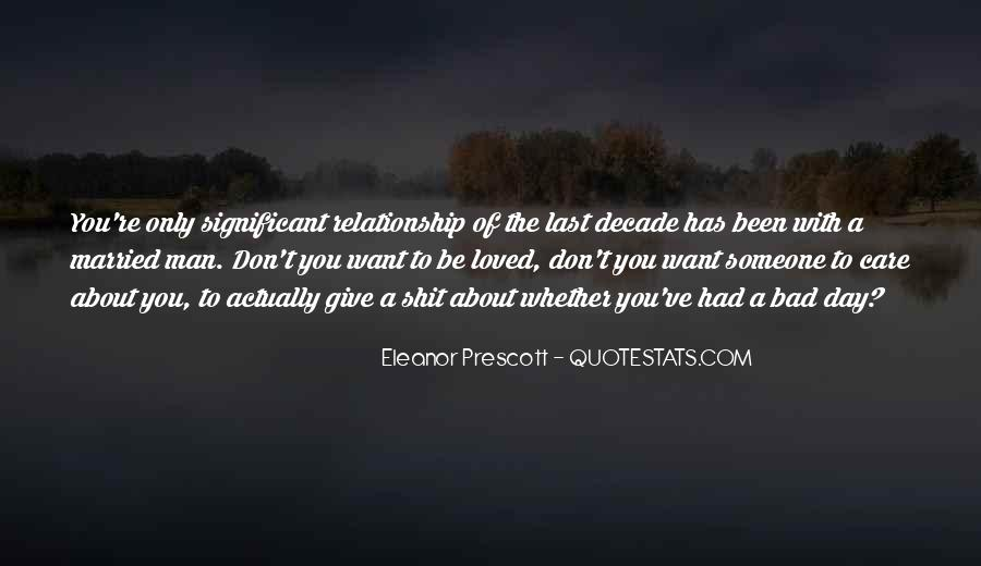 About Bad Relationship Quotes #672539