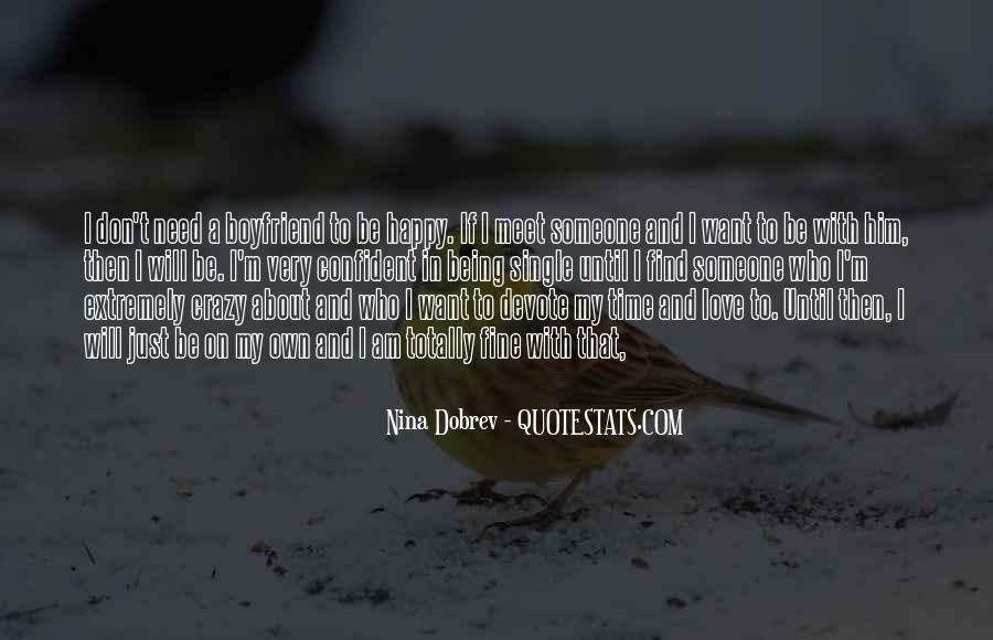 About Being Crazy Quotes #180