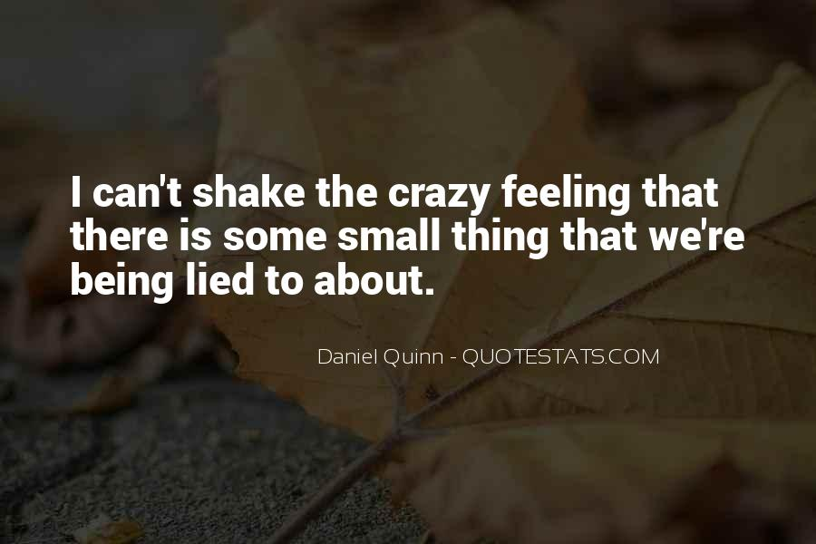 About Being Crazy Quotes #19082