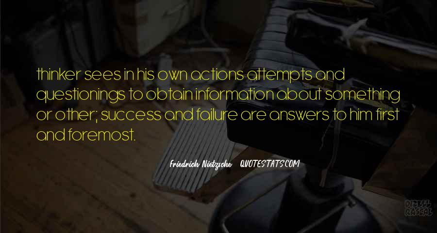 About Failure To Success Quotes #1228370