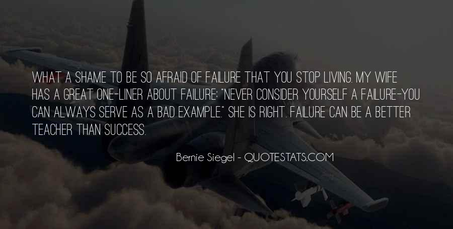 About Failure To Success Quotes #1694199