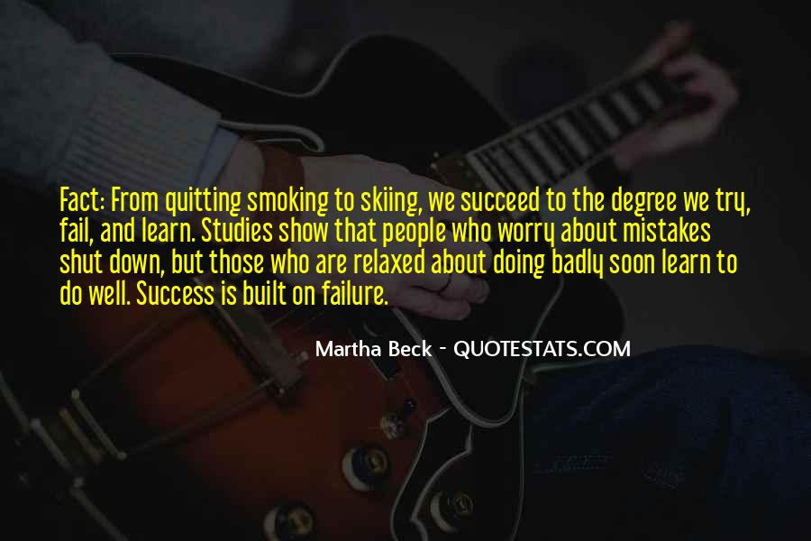About Failure To Success Quotes #191696