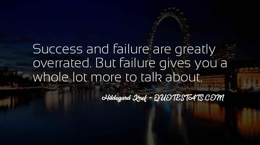 About Failure To Success Quotes #797155