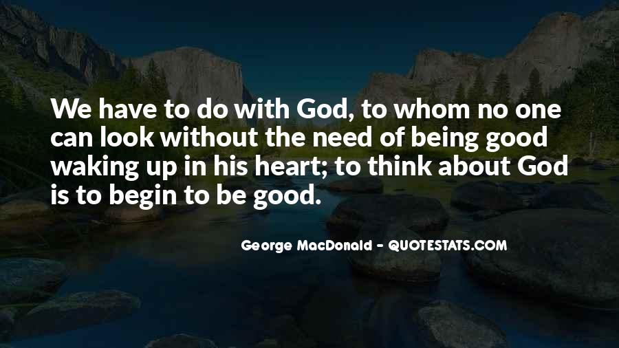 About Good Heart Quotes #1290647