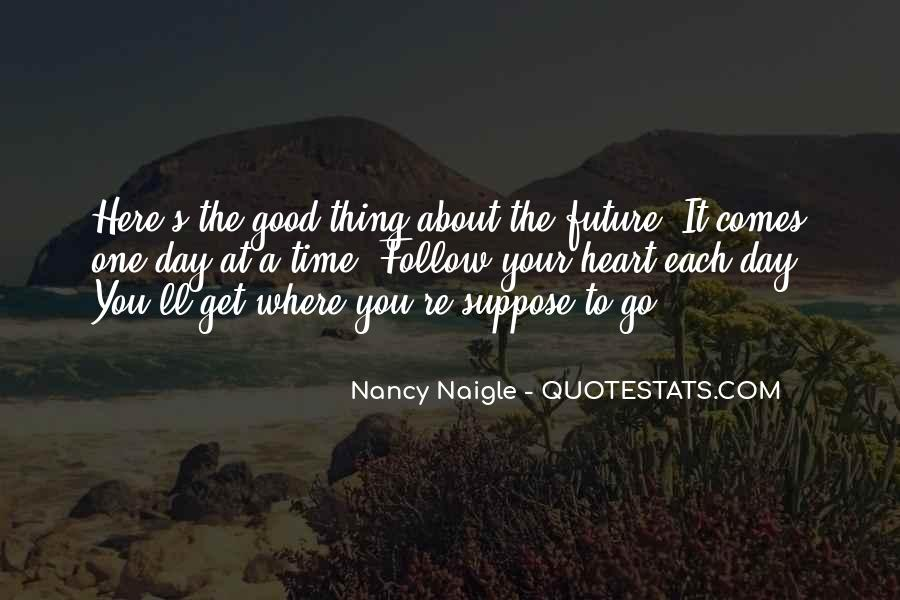 About Good Heart Quotes #1542139