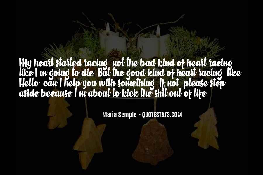About Good Heart Quotes #1577837