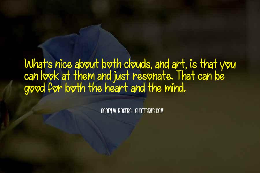 About Good Heart Quotes #159304