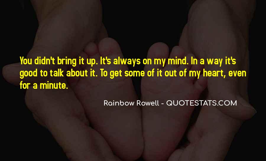About Good Heart Quotes #224476