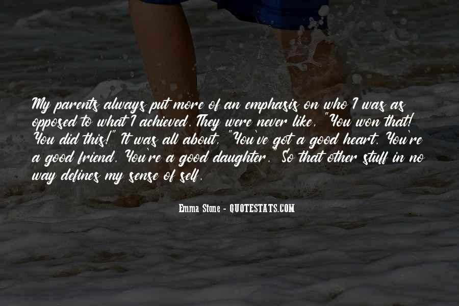 About Good Heart Quotes #272205