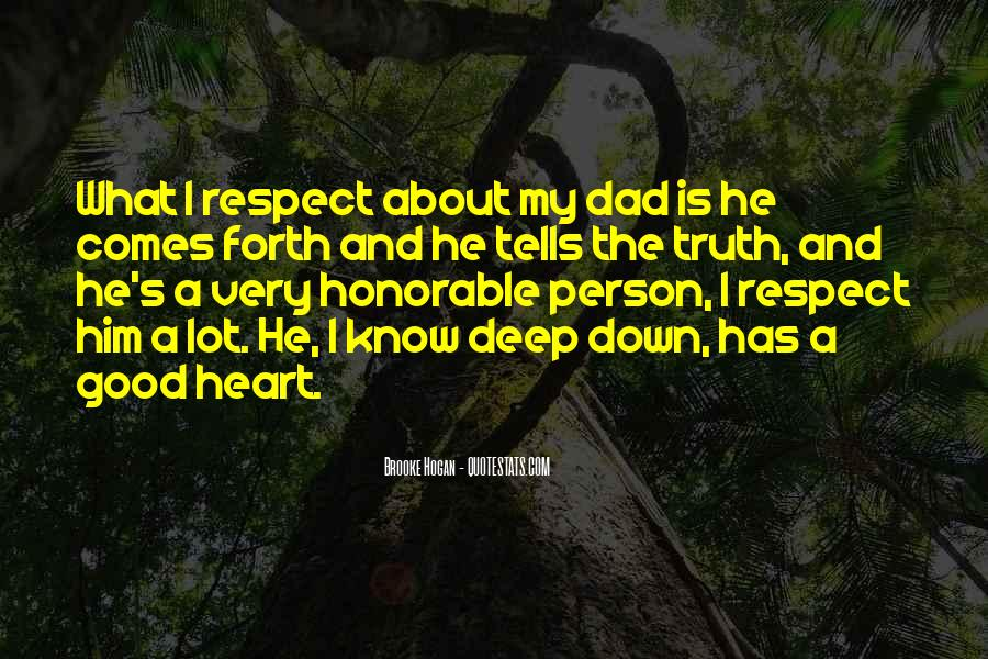 About Good Heart Quotes #294730