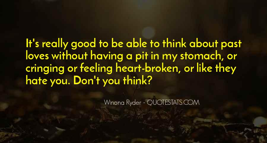 About Good Heart Quotes #447574