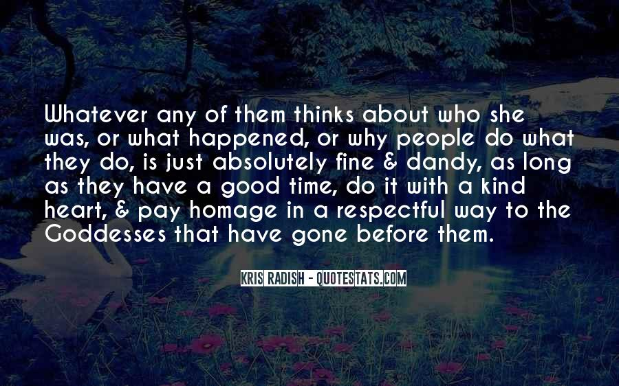 About Good Heart Quotes #687517
