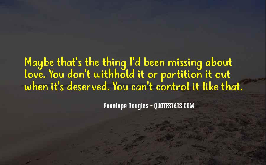 About Missing You Quotes #1535669