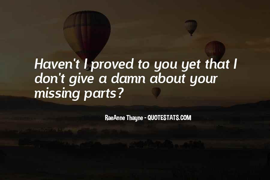 About Missing You Quotes #1635470