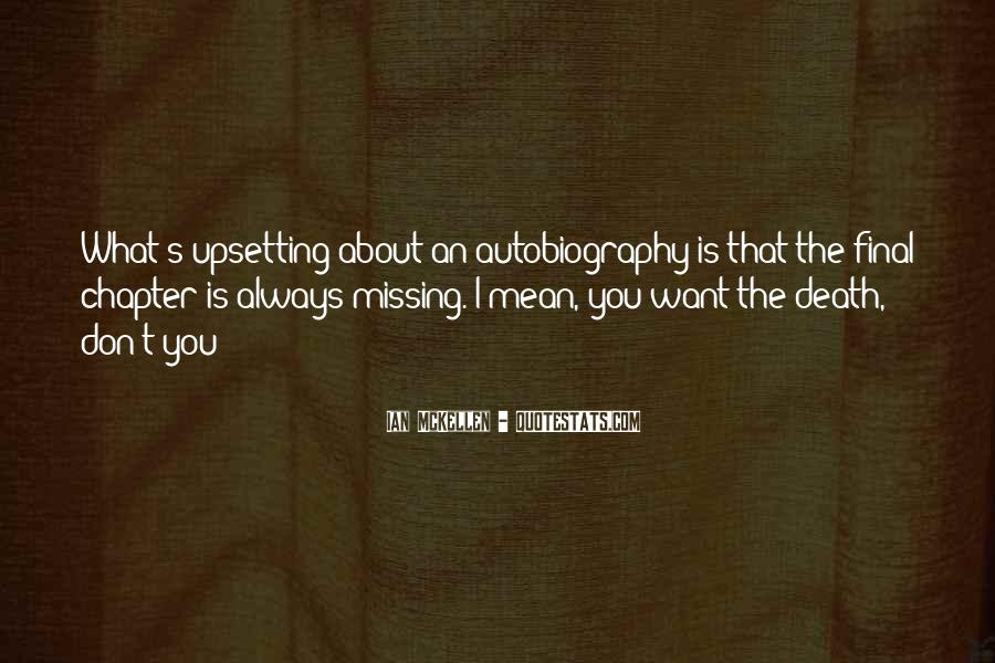 About Missing You Quotes #1685556